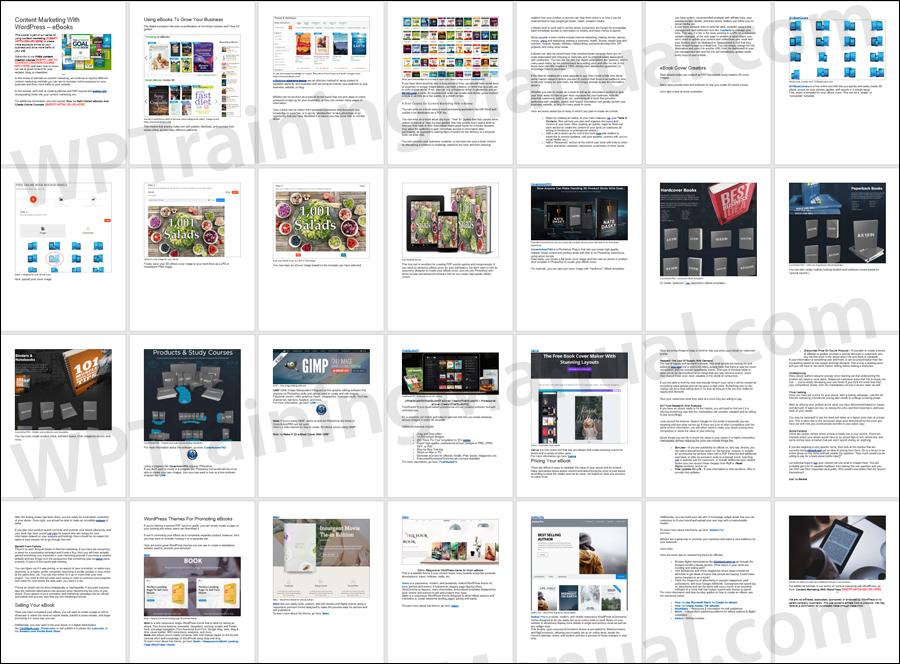 Content Marketing With WordPress Using eBooks