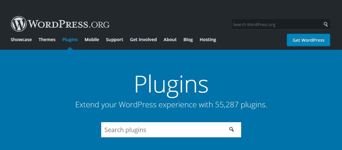 WordPress Plugins directory.