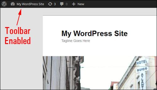 WordPress Admin Toolbar visible.